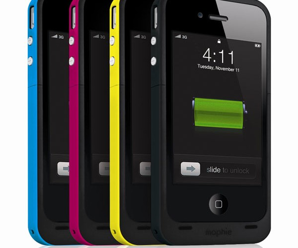 Mophie Juice Pack Plus Doubles iPhone 4 Battery Life, Looks Good Doing It