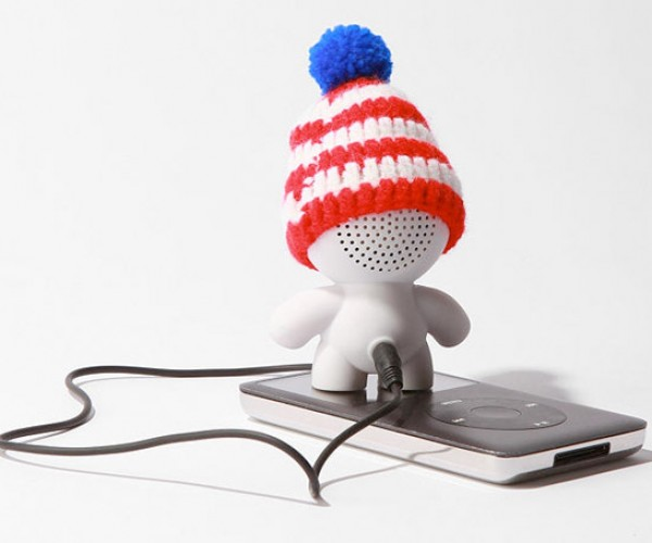 Audiobot Speaker Wears Ski Hat to Keep Its Sounds Nice, Warm and Muffled