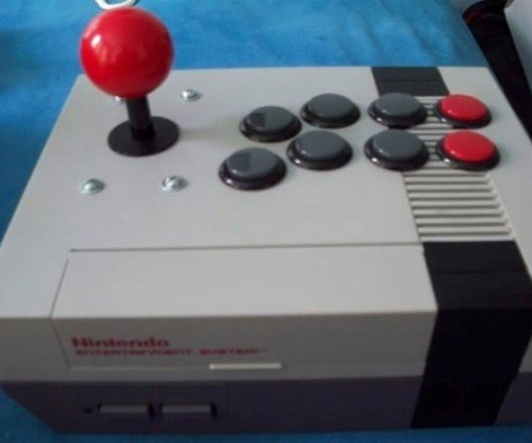 NES Console Joystick Mod Doesn't Play Super Mario Bros.