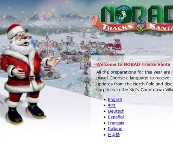 OnStar Tracks Santa with NORAD