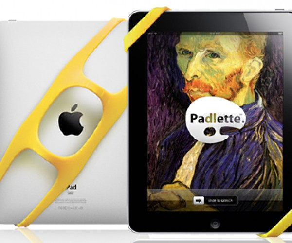 Padlette iPad Handle Help You Hang on to Your Tablet