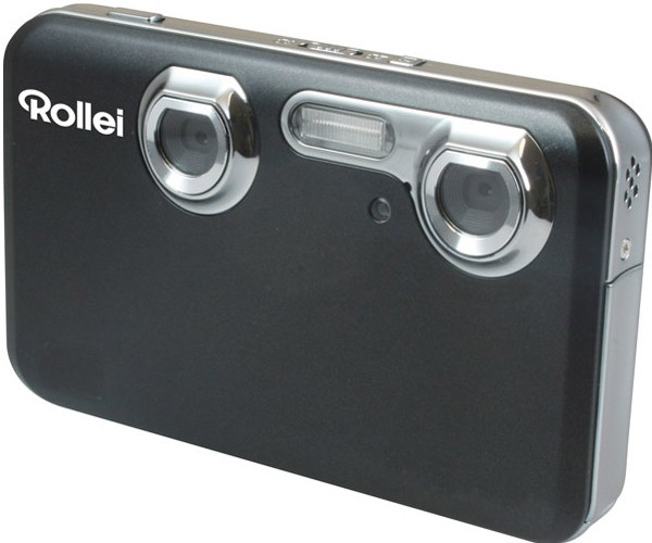 Rollei 3D Camera and 3D Digital Photo Frame Bust out of the 2D Realm