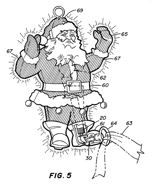 santa claus patent 2