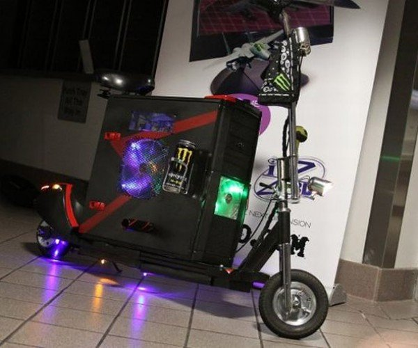 The Scooterputer: The Casemod That Actually Drives