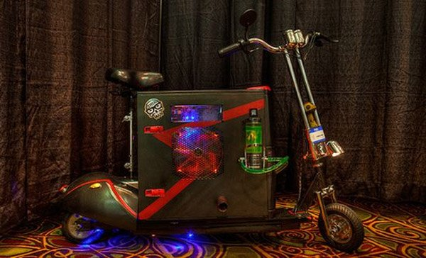 scooterputer scooter pc casemod 2