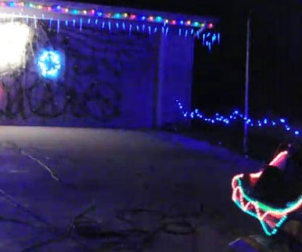 Geeks Turns Christmas Light Display Into Video Game