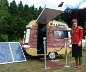 Sol Cinema is the World's Smallest Solar Powered Theater