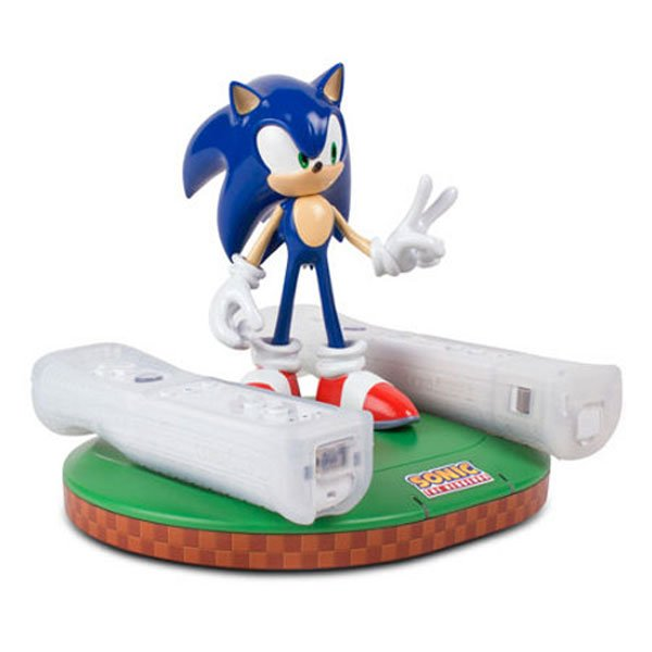 Sonic The Hedgehog Gets Wii Remote Charger Gold Rings Not Included