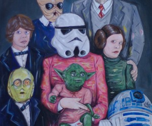 Star Wars Family Portraits