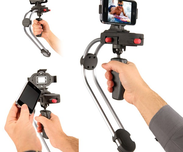 Steadicam Smoothee iPhone Rig Steadies Shaky Smartphones
