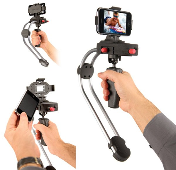 steadicam smoothee iphone mount