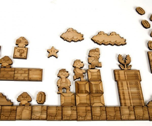 Super Mario Bros.: Magnetic Bamboo Edition