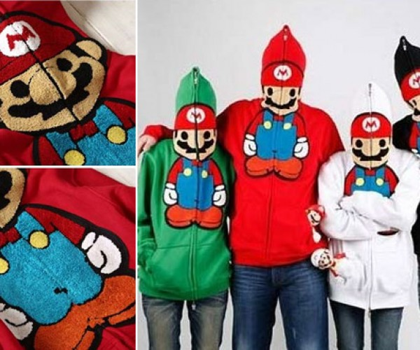 Super Mario Baby Milo Hoodie is both Cute and Creepy