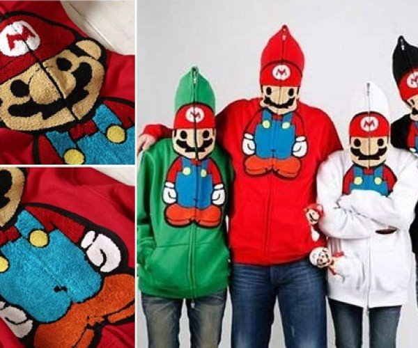 Super Mario Baby Milo Hoodie is both Cute and Creepy