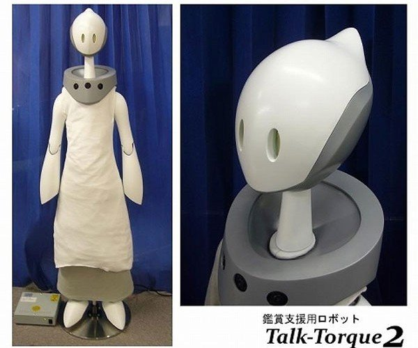 TalkTorque 2 Robot Guides People at Museums and Creeps Them Out