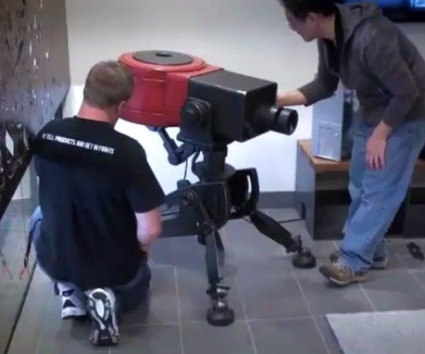 Tf2 Full-Scale Sentry Gun Lands at Valve HQ