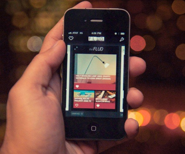 Flud News Reader Comes to iPhone, Features Technabob