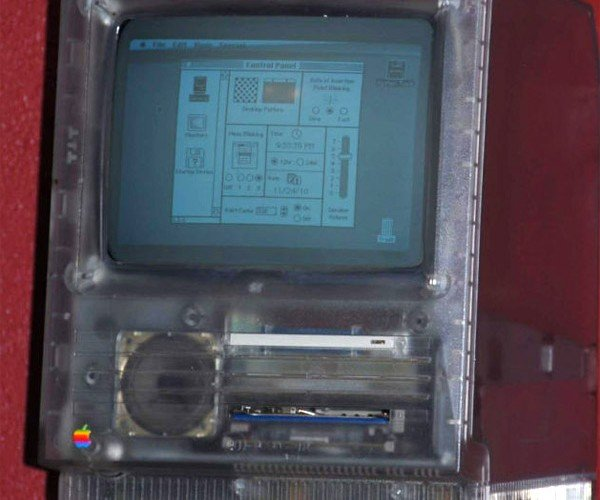 Rare Transparent Macintosh Se Hits Ebay: Get Out Your Checkbooks, Mac Fans