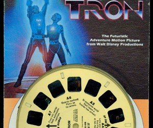 Original TRON was in 3D Too (TRON View-Master)