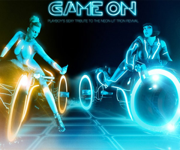 Playboy TRON Photo Shoot Released: Geek Fantasy Fulfilled (NSFW)