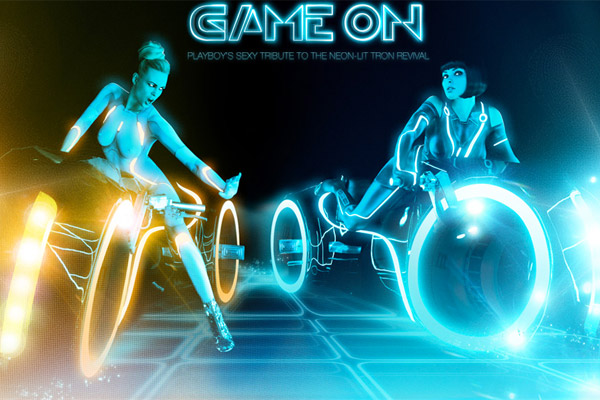 tron playboy pictorial 3