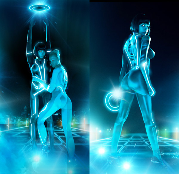tron playboy pictorial 4