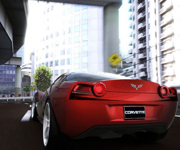 Design Student Whips Up Awesome Corvette Concept