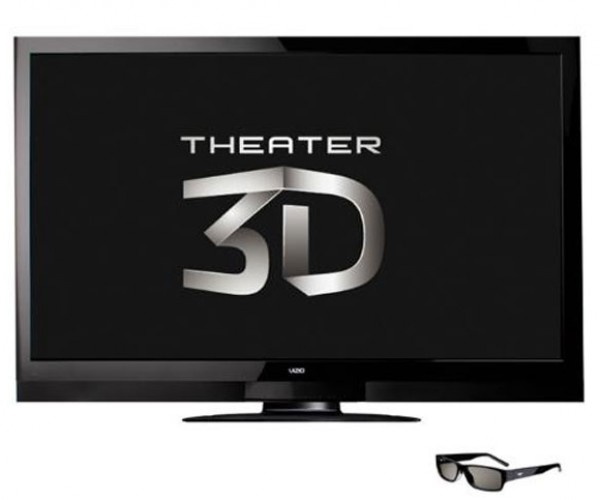 Vizio 65-inch 3D TV Uses Passive Glasses!
