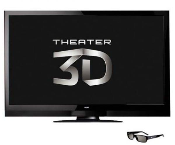 Vizio 65-inch 3D TV Uses Passive Glasses!
