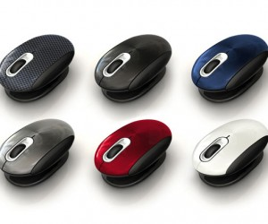 Smartfish Whirl Mini Notebook Laser Mouse Aims for Comfort