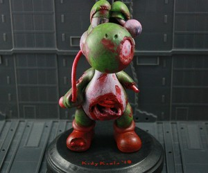 Yoshi Becomes Zombie, Mario Left 4 Dead