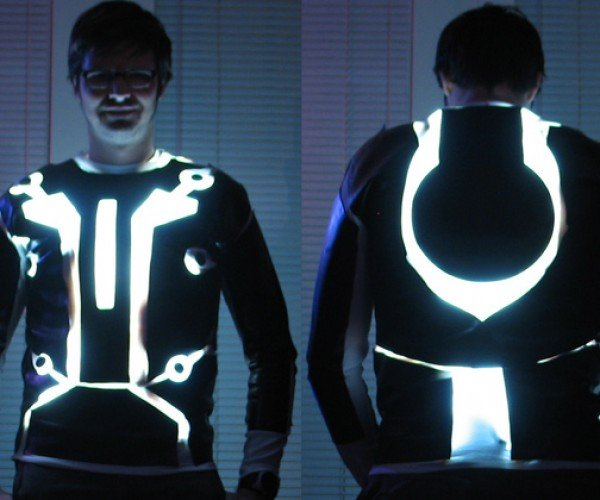 DIY TRON Suit: Making the Most Out of Something Bad