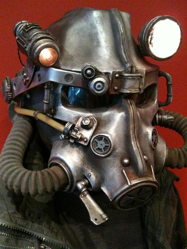 fallout 3 video games helmet replica diy