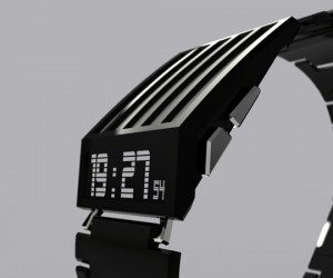 Jonathan Frey's Horodron E-Ink Watch Looks Awesome