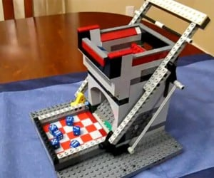 Self-Loading LEGO Dice Tower: Perfect for Old-School RPG Fans