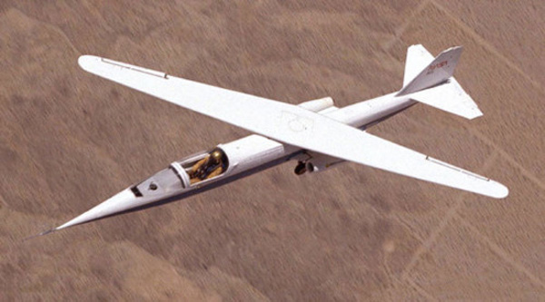 nasa wings askew plane 1970