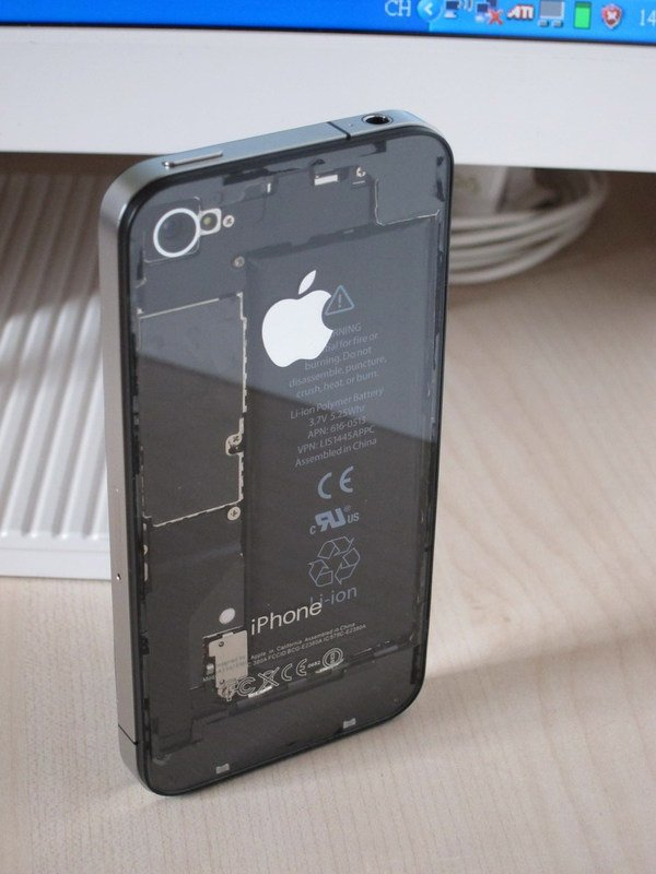 clear iphone case mod hack apple