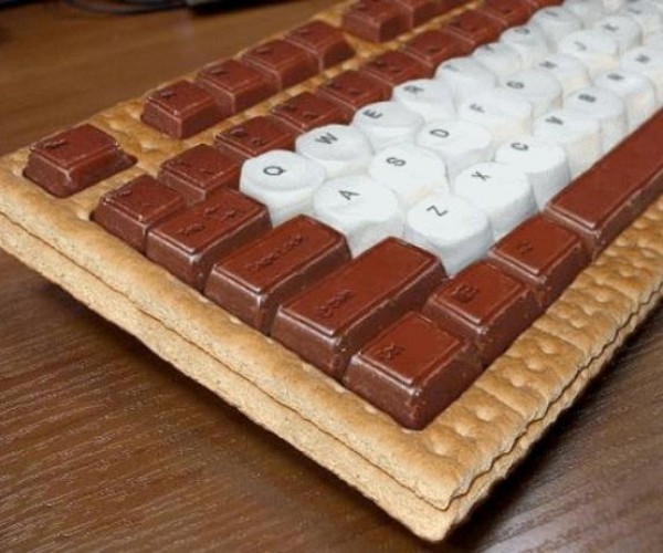 Keyboard S'Mores: Fun Way to End the Week