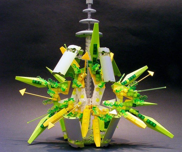 LEGO Spraycan Explosion: All Sorts of Awesomeness
