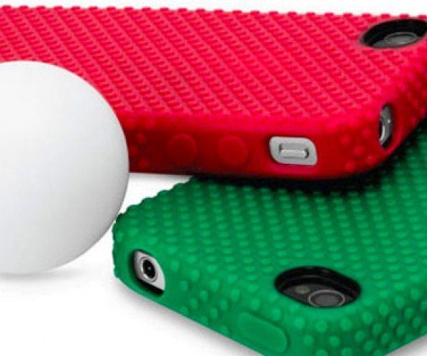 iPhone Ping Pong Paddle Case Not Really Meant for Whacking Balls