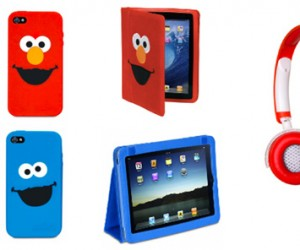 Elmo and Cookie Monster iPhone and iPad Cases: Cuteness Overload?