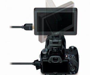 Sony Announces External Monitor for DSLR Video Shooting