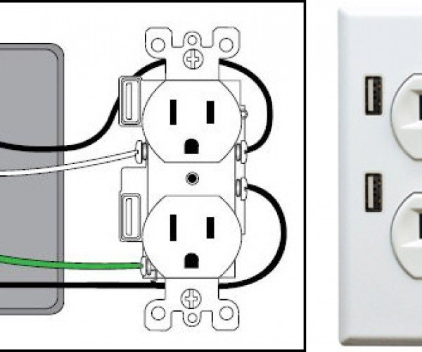 U-Socket Adds USB Ports to Your Wall Outlets