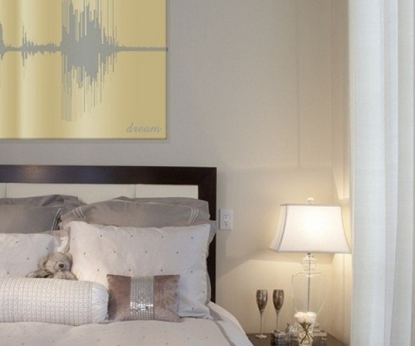 VoicePrints Turn Your Words Into Wall Art