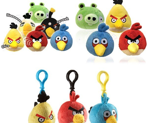 Firebox Offers Angry Birds Plush Toys for UK Geeks