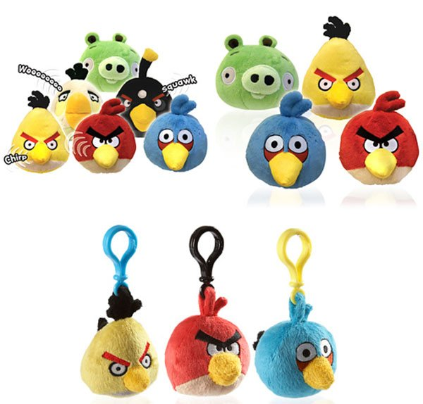 Toys For Geeks : Firebox offers angry birds plush toys for uk geeks technabob