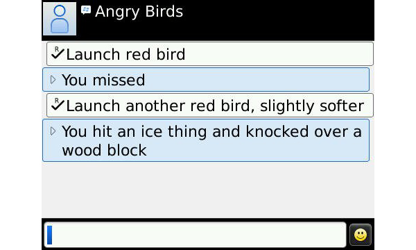 angry birds for blackberry joke