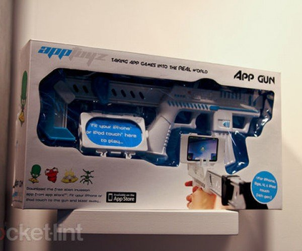 apptoyz app gun ipod touch iphone 4