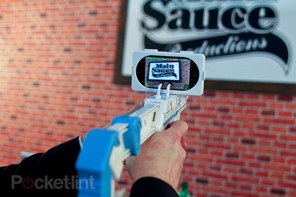apptoyz app gun ipod touch iphone