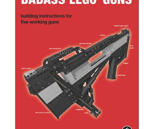 Badass LEGO Guns Book Gets Badass Video